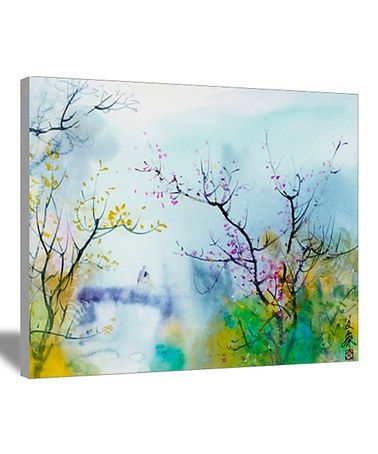 Look what I found on #zulily! Lovers at Chi Tou Canvas #zulilyfinds