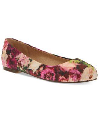 Nina Originals Peppy Round-Toe Print Flat Sandals   macys.com · Floral Flats Pink FlatsFlat SandalsFlat ShoesWomen's ...