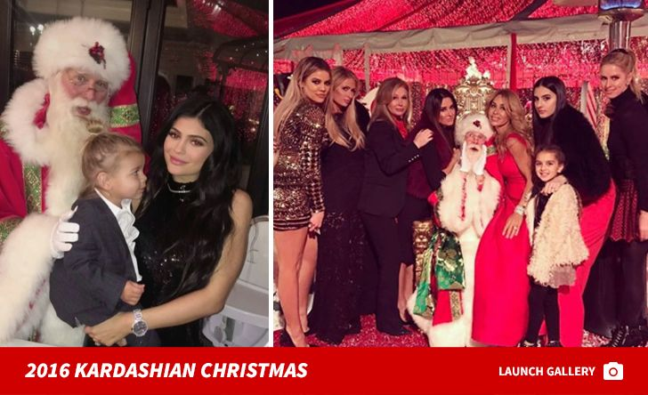 Kris Jenner's Christmas Eve Bash Guest List Includes Scott Discick and Kourtney's BF