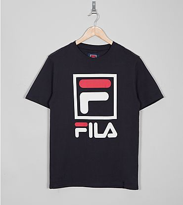 Fila logo tee. Clean but cool...