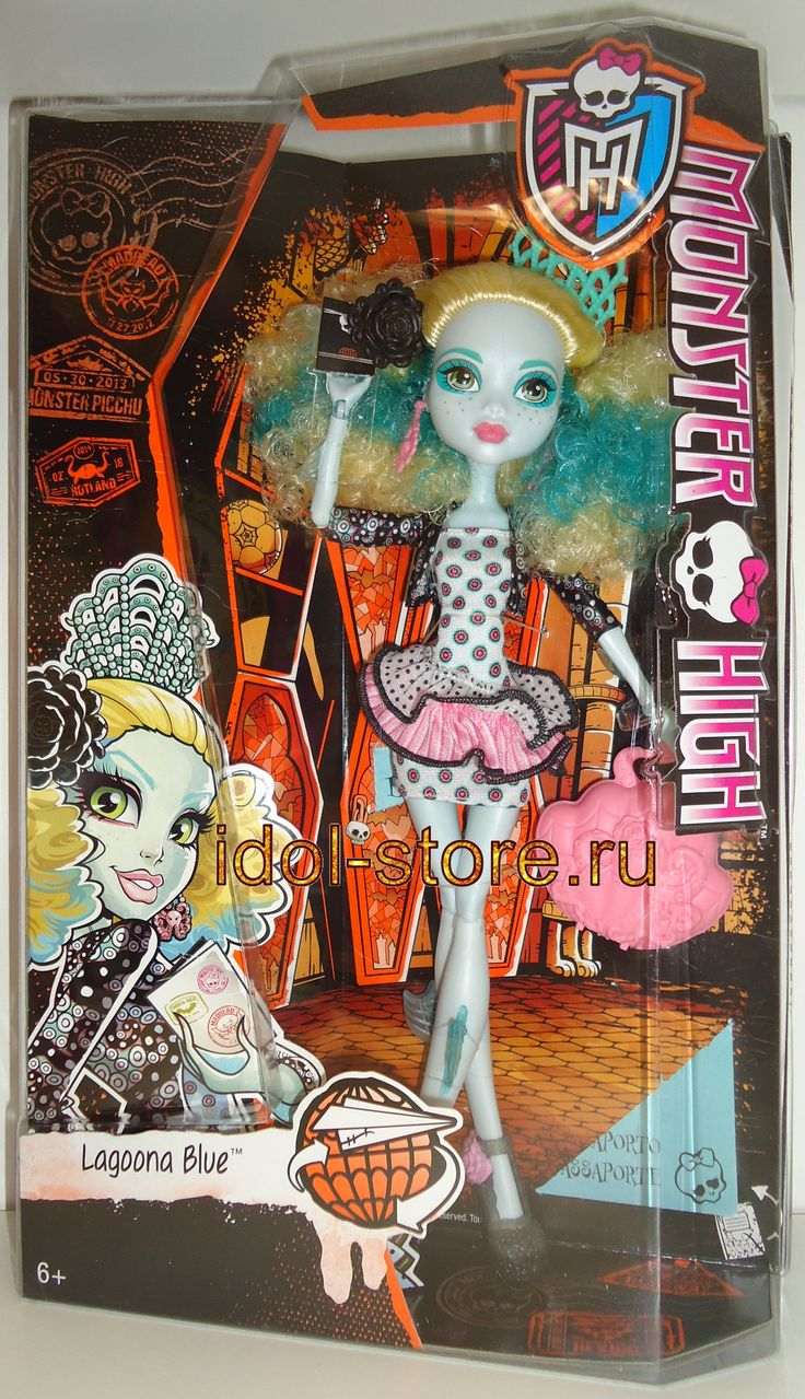 "Monster High - Monster Exchange Program - Lagoona Blue fashion doll. Монстр * Монстер Хай - кукла Лагуна Блю * Блу из серии ""Монстры по обмену"""