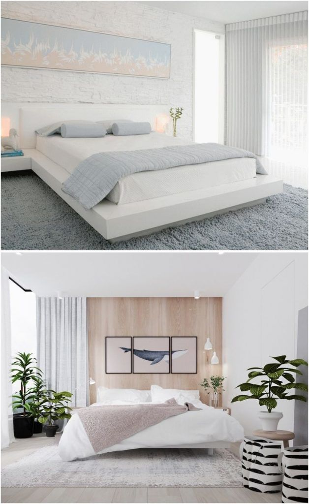 That S Why White Bedrooms Aren T Boring 31 Photos Small White Bedrooms White Bedroom Set White Furniture Living Room