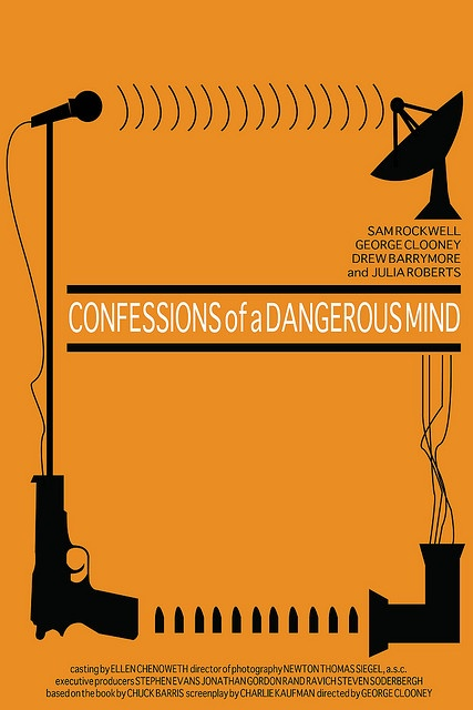 Risultati immagini per confessions of a dangerous man movie poster