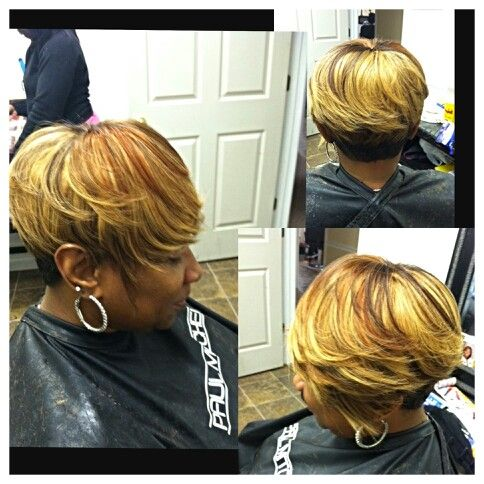 Short quick weave styles by cola