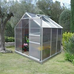Serre de jardin polycarbonate 3,6m2
