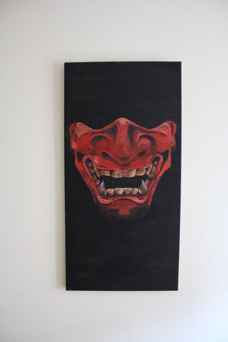 Hanya Acrylic Painting Mask