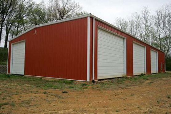 3 car portable garage with side entry door | Prefab ...