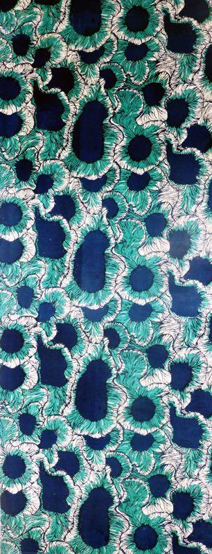 Sea-life inspired Textile Design by Claire Martin Textiles Graduate 2012 Loughborough