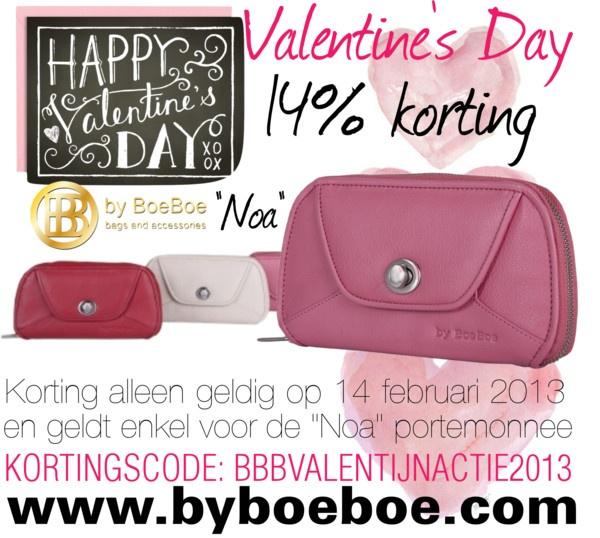 """by BoeBoe Valentijn actie roze portemonnee Noa"" by byboeboe on Polyvore"