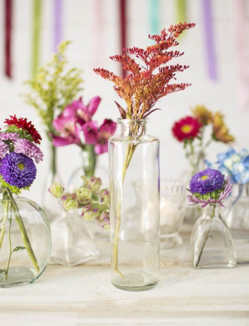 Our clear glass classic stands tall among counterpart vases, adding visual interest to your tablescapes.