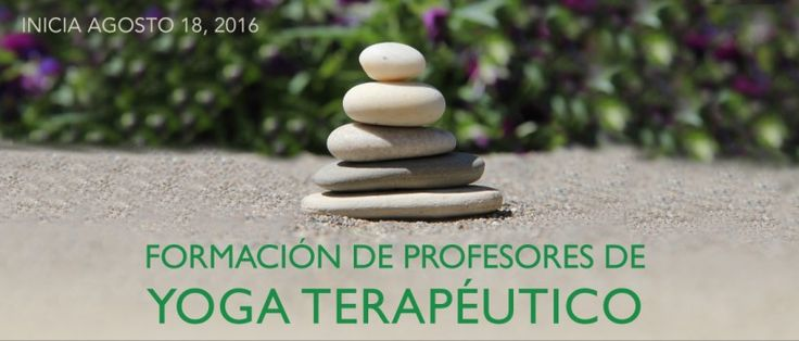 Formacion 2016. Yoga Terapeutico. Bogota. Inicia agosto 18.