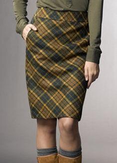 LL Bean $129; every woman needs a good plaid skirt!
