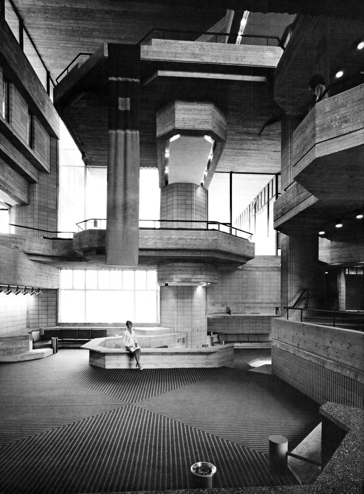 Southeast Massachusetts Technical Institute, North Dartmouth, Massachusetts, 1963-72 (Paul Rudolph)