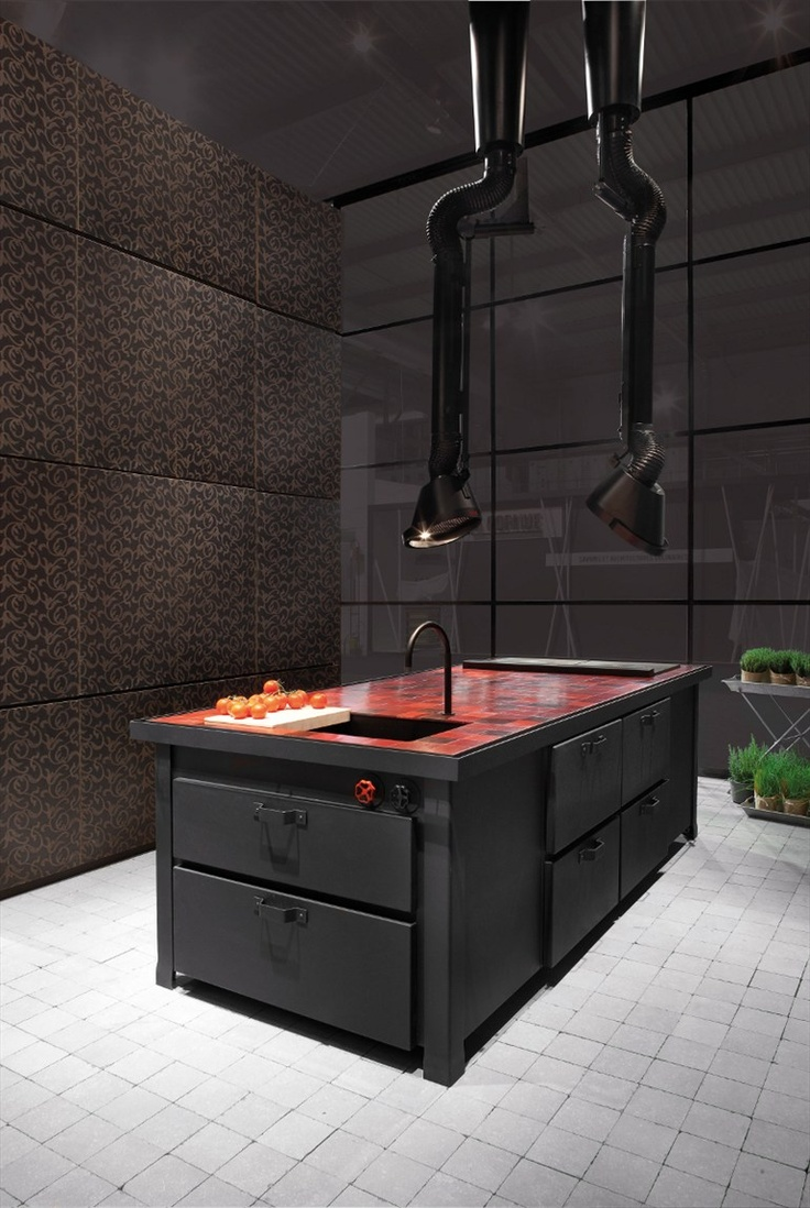 Ceiling-mounted cooker hood MAMMUT - Minacciolo