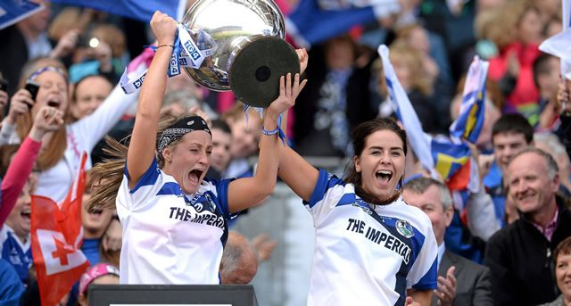 Cavan ladies have won their first All-Ireland title since their one and only senior success back in 1977 with a 2 point victory over Tipperary at Croke Park.