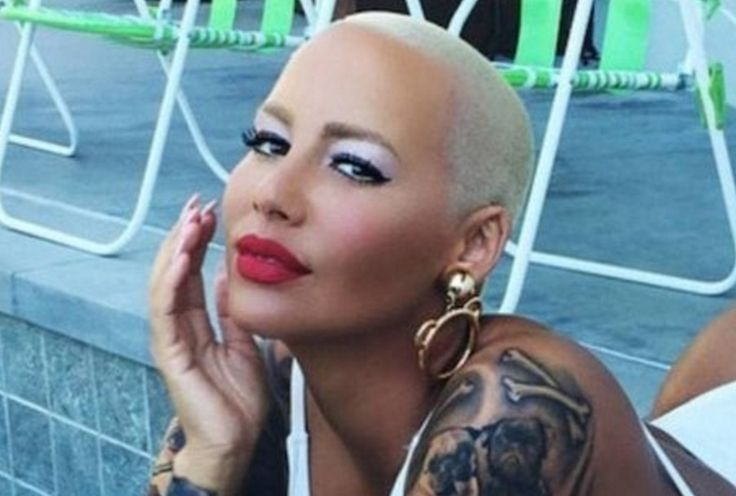 Amber Rose Has Stopped Shaving Her Head… And She Looks Totally Different. - http://www.lifebuzz.com/amber-rose/