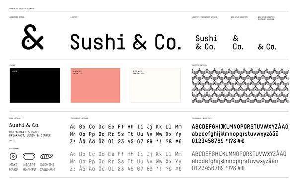 Sushi & Co. on Behance