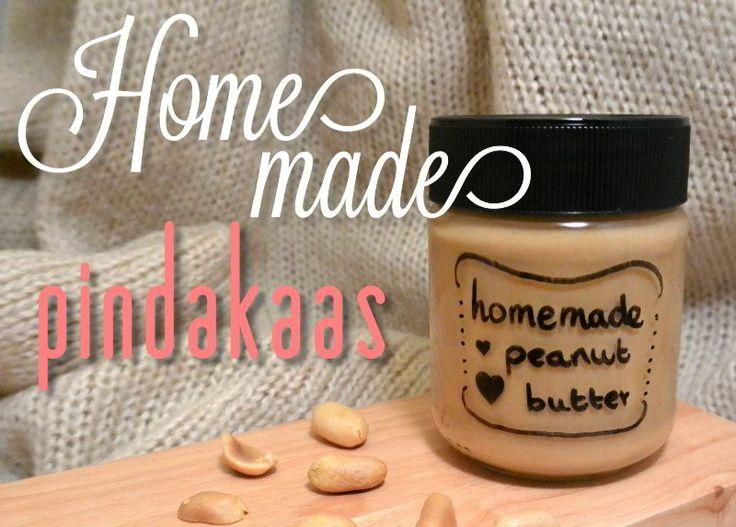 simple thoughts zelfgemaakte pindakaas homemade peanutbutter
