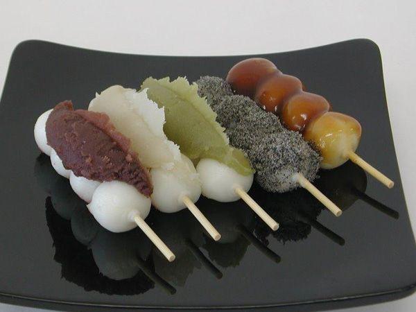 Japanese Sweets, hanazonodango