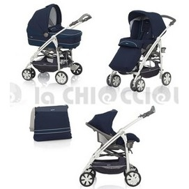 Inglesina Trio Otutto 2013 to 759 € instead of 799 €!  Spacious and very comfortable, is suitable for use in the car, and can be used both for a walk in the house.  The stroller, comfortable and spacious, allows you to turn sitting in a reversible manner to the parent or to the surrounding world.  The egg Huggy Multifix passes easily from the car to the frame of the trio.  Available in several colors.  http://www.lachiocciolababy.it/bambino/marina___telaio_bianco-4120.htm