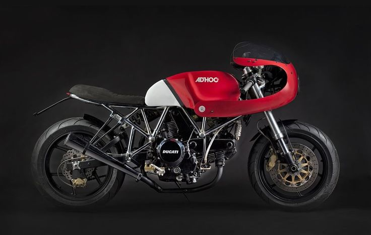 Ducati 750SS Cafe Racer by Ad Hoc Cafe Racers #motorcycles #caferacer #motos | caferacerpasion.com