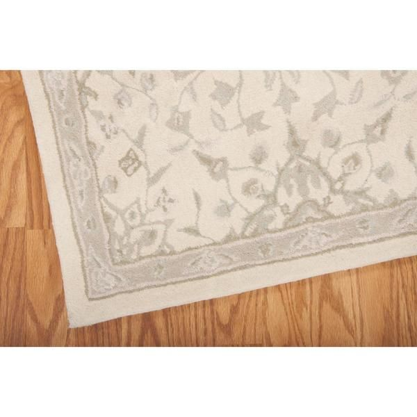 kathy ireland Royal Serenity St. James Bone Area Rug by Nourison (2'3 x 8')