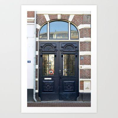 Blue doors, Nijmegen, deuren
