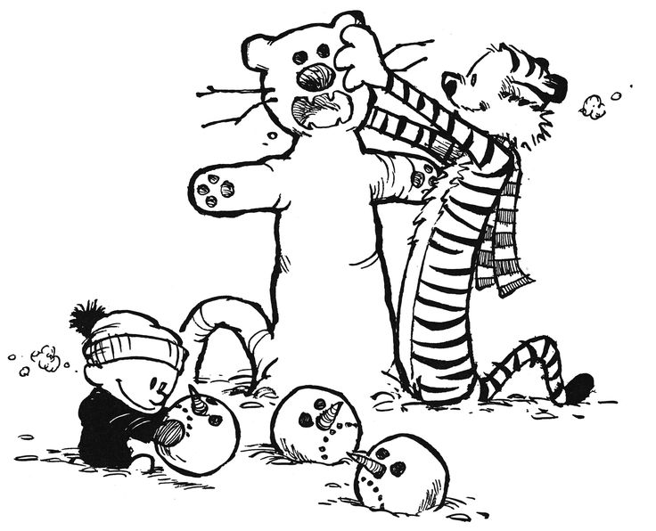 Calvin and Hobbes · Something Under the Bed is Drooling