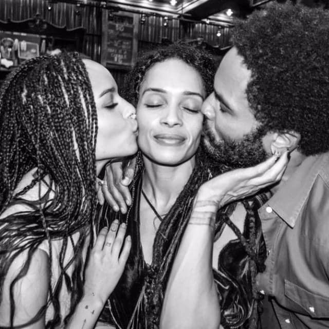 Pin for Later: Lenny Kravitz Shares a Sweet Family Photo After Hitting the Red Carpet With Lisa Bonet