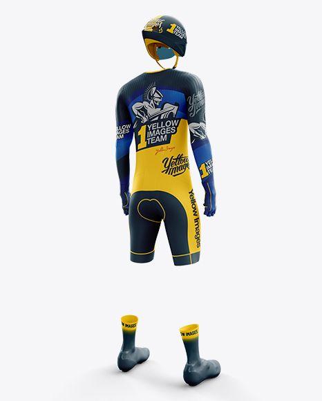 Download Men S Full Cycling Time Trial Kit Psd Mockup Hero Back Shottemplate Clothing Mockup Design Mockup Free Shirt Mockup
