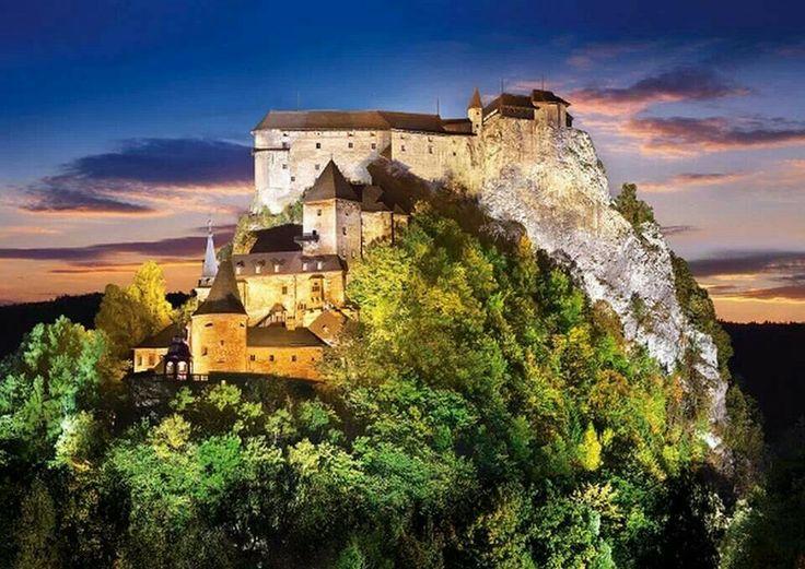 Oravský castle, Slovakia. Breathtaking!