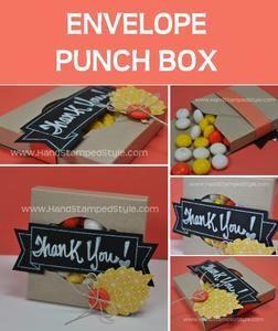 Envelope punch box