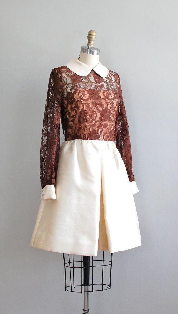 vintage 1960s Suzette dress    #vintage #vintagedress #1960s #vintagelace