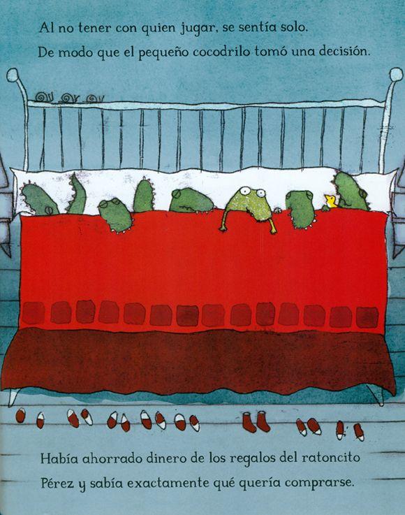 El Cocodrilo Al Que No Le Gustaba El Agua Cocodrilo Animacion A La Lectura Libros Para Niños