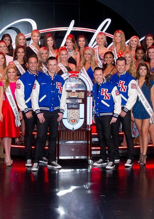 "Miss Teen USA Contestants Attend Human Nature ""Jukebox"" at The Venetian Las Vegas (Photo credit: Chris Poore / Cashman Photo)."