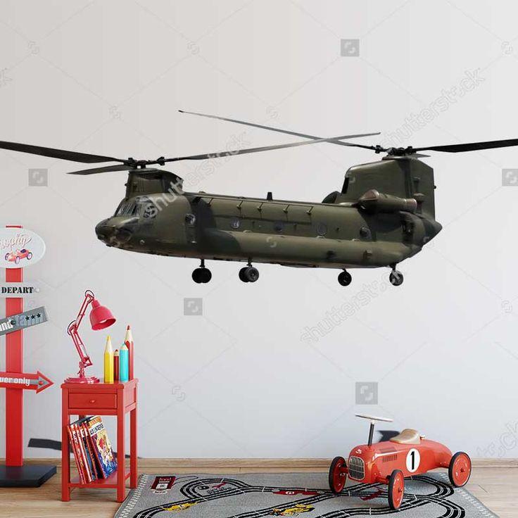Fotobehang Helicopter army | Maak het jezelf eenvoudig en bestel fotobehang voorzien van een lijmlaag bij YouPri om zo gemakkelijk jouw woonruimte een nieuwe stijl te geven. Voor het behangen heb je alleen water nodig! #behang #fotobehang #print #opdruk #afbeelding #diy #behangen #leger #militair #luchtmacht #helikopter #helicopter #vliegen #voertuig #jongenskamer