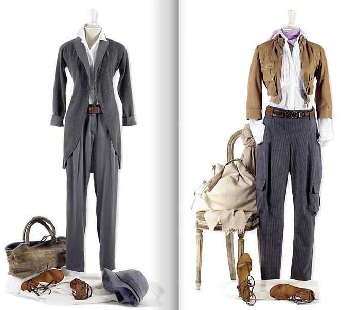 Нескучный повседневный гардероб. Каталог весна-лето 2009 от Brunello Cucinelli