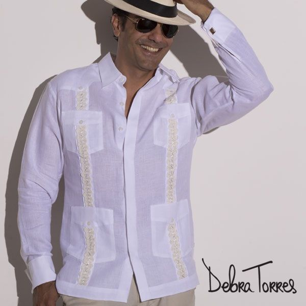The Guayabera James Shirt Is One Of Our Most Elaborate Guayaberas Perfect For Weddings And Other Warm Weather Special Occasions