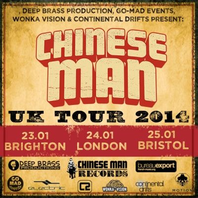 Take a look at the amazing Chinese Mans biography by The List, in preparation for their upcoming show in January at the Concorde 2. Click here: http://www.list.co.uk/event/20526831-chinese-man/