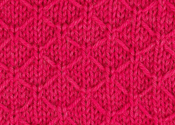 Knitting Quilted Lattice Stitch : Best images about knitting stitches slipped