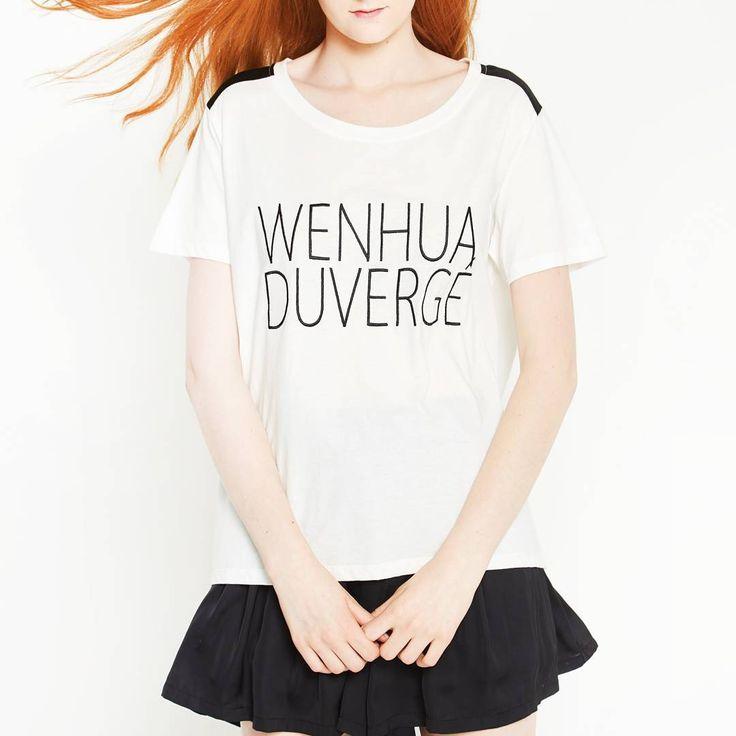 ☆ Be ecolo ~ Be chic ☆ Organic cotton T-shirt♡Recycled polyester short-skirt www.wenhuaduverge.com Batignolles Paris 17e, 31 rue Legendre #slowfashion #ecologystore #ecologie #bio #cotonbiologique #chic #magasinbio #beecolobechic #polyesterrecyclé #fashion #consciousfashion #moderesponsable #styliste #lainemerinos #merinowool #veganfashion #recycled #magasinbio #stylisteecolochic #fashiondesigner #tshirtbio #tshirt #gots #organiccotton #fsc #ecolabel #shoptiques #igloo #handifashion