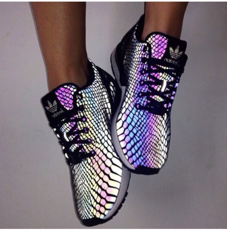 Snake print adidas, and the colors!