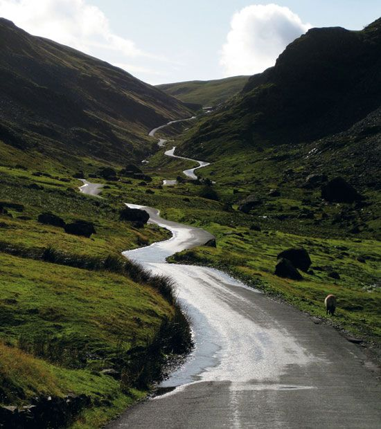 Honister Pass, Buttermere Cumbria