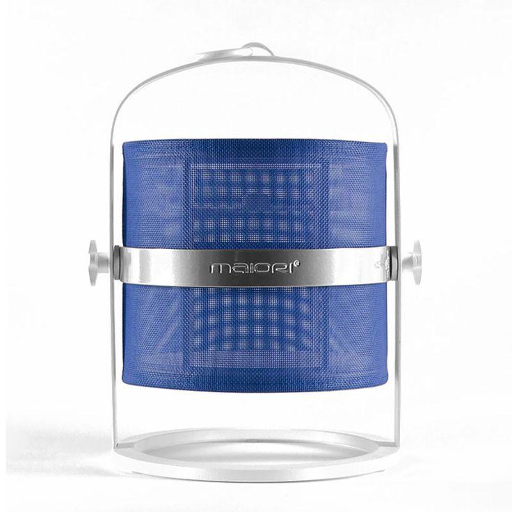 top3 by design - Maiori - la lampe petite white blue shade