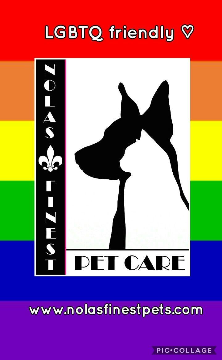 We are LGBTQ friendly, share the love! #lgbtqfriendly #lgbtq #iheartnola