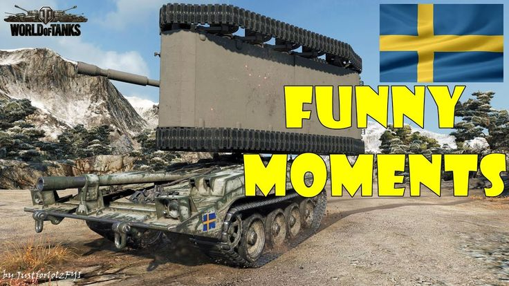 World of Tanks - Funny Moments | SWEDISH TANKS!