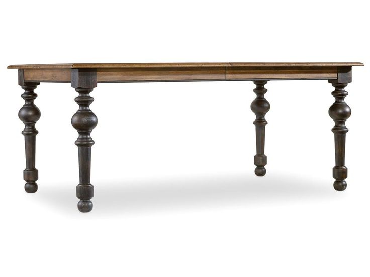 Hooker Furniture Dining Room Sanctuary Leg Dining Table