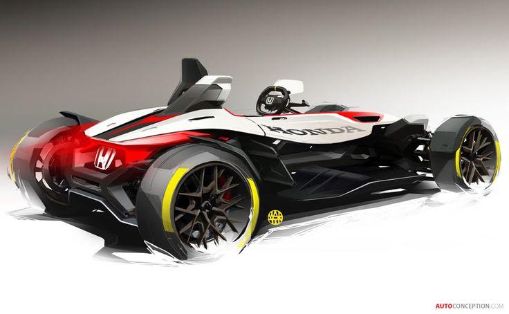 Honda Project 2&4 Concept Hints at Future Ariel Atom Rival