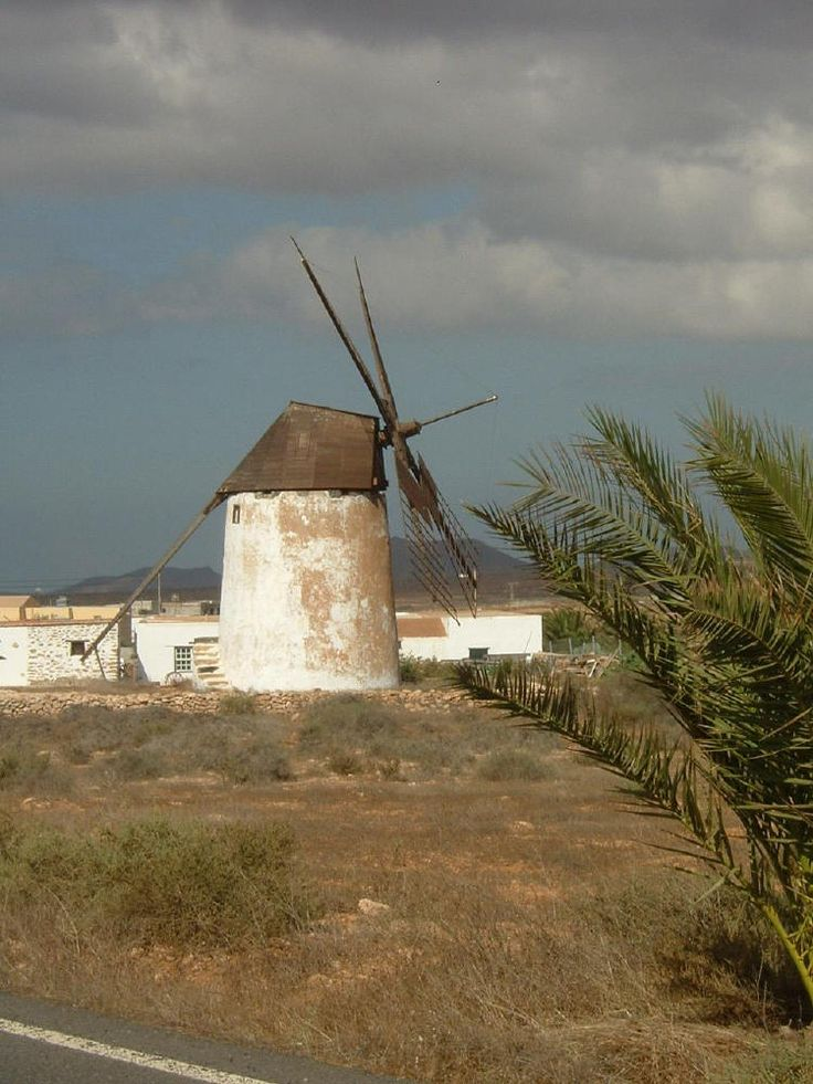 Molino en Tuineje, Fuerteventura.