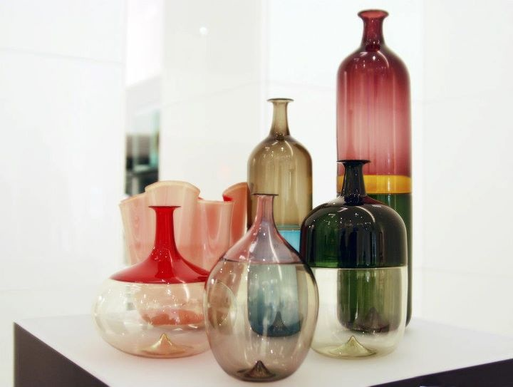 great selection of our exclusive Venini glass for spring.